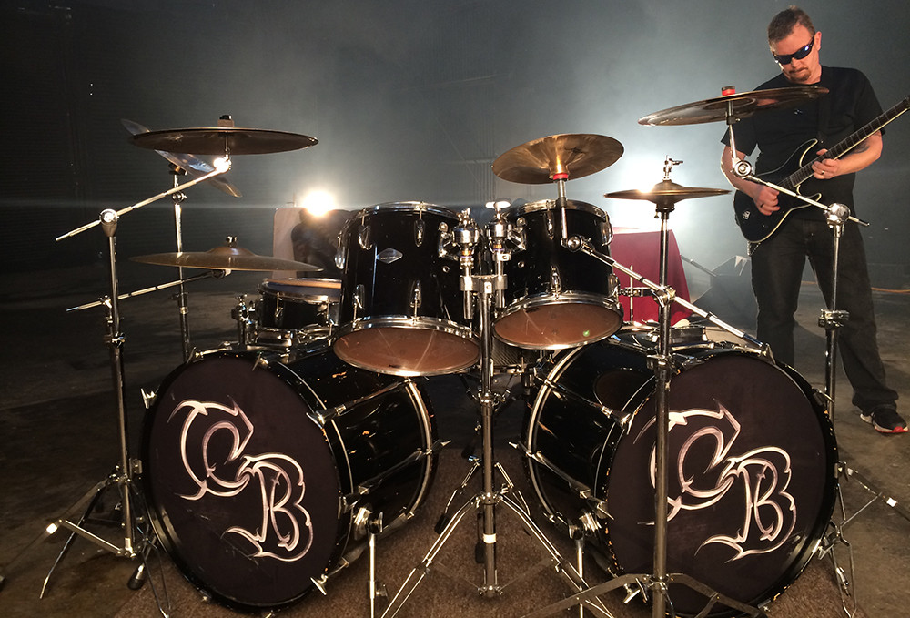 Chemical Burn Band video shoot