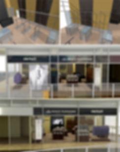 ტანსაცმლის მაღაზიის ინტერიერის დიზაინი