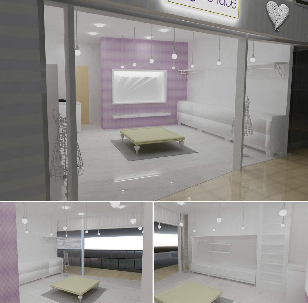 მაღაზიის 3D ვიზუალიზაცია
