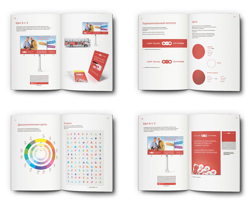 brand book city pharma