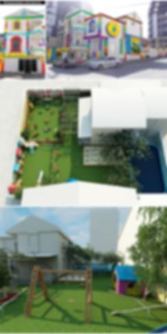 фасад детского сада