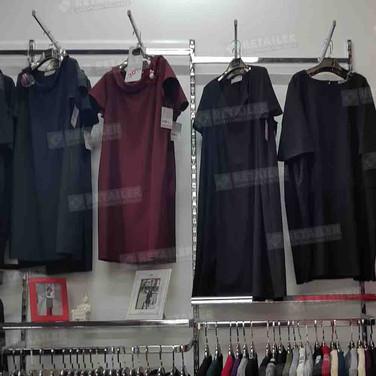 Кронштейны для магазина одежды, Leola