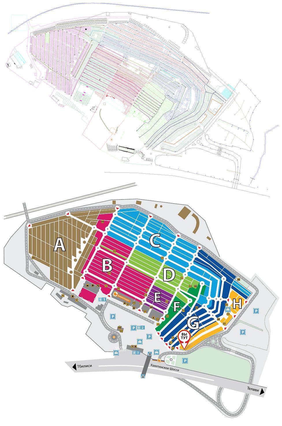 проектирование торгового центра lilo mall