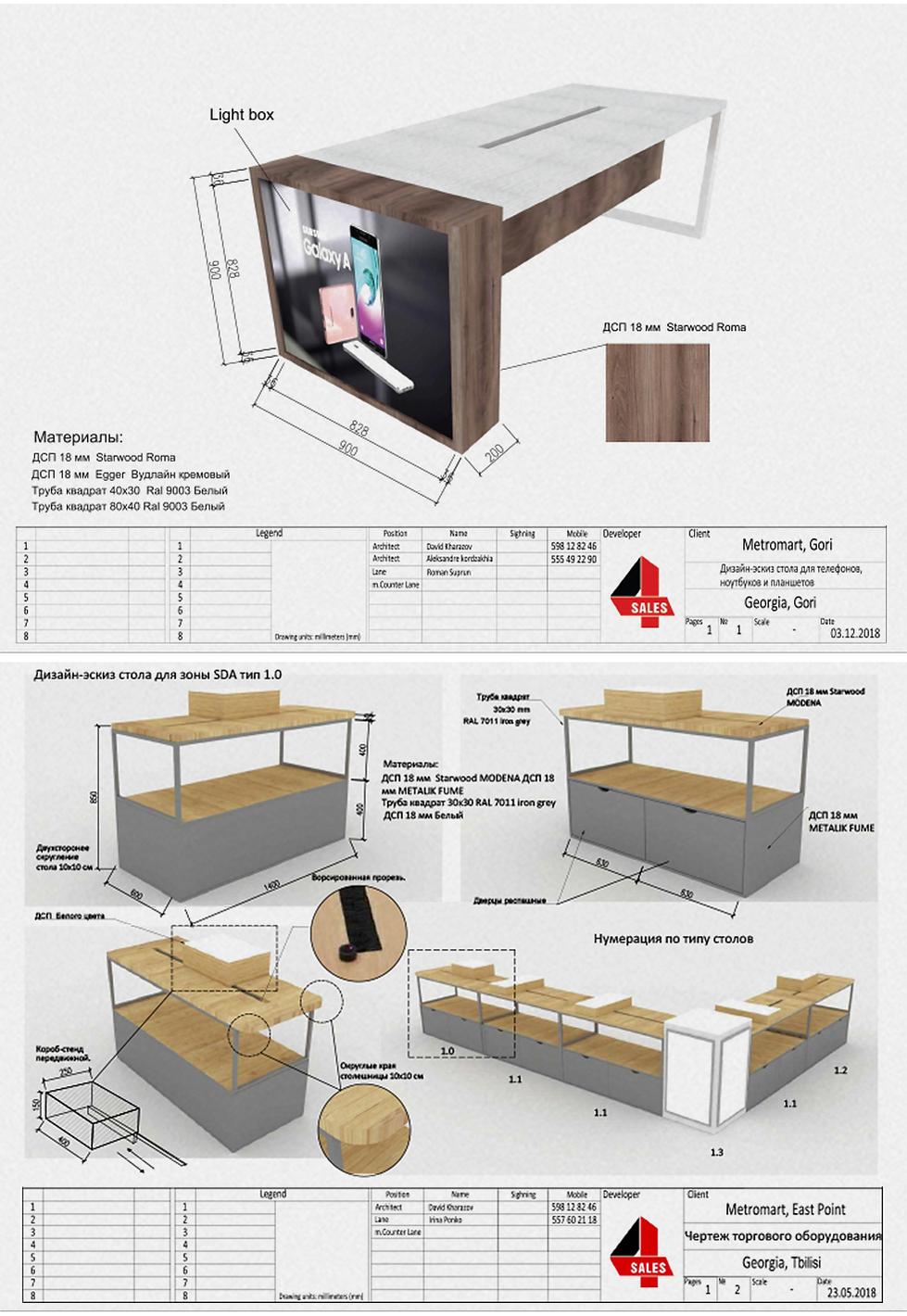 метромарт проектирование