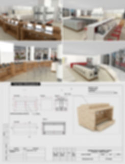 electronic store interior design
