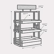 конструирование стеллажей