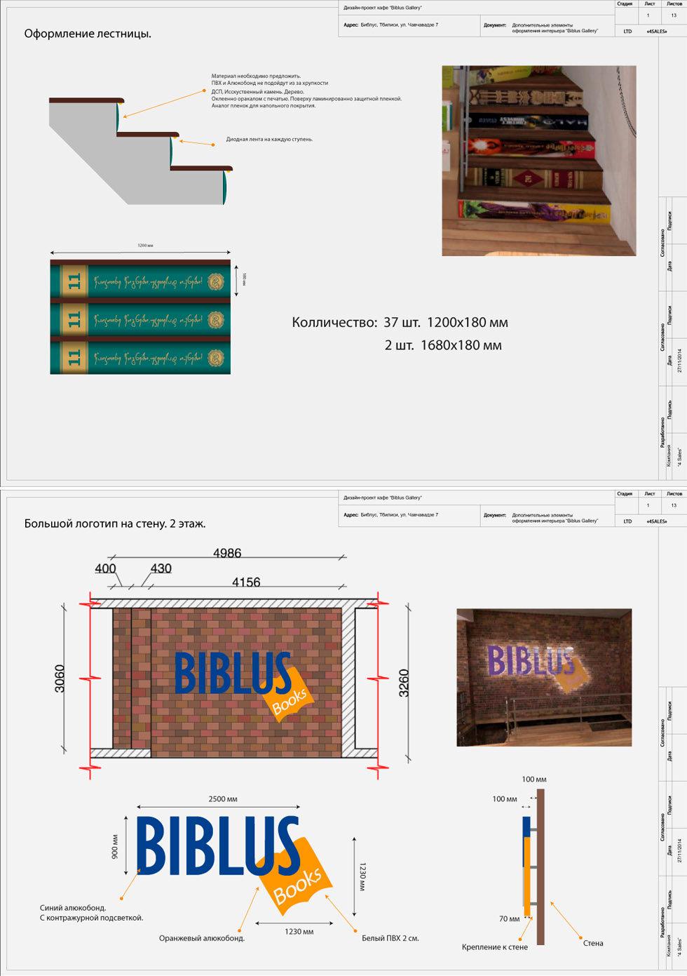 оформление интерьера магазина biblus