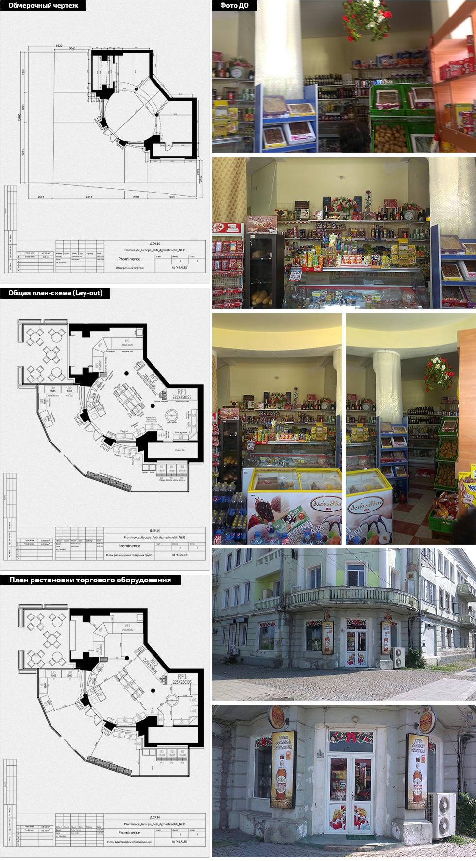 მაღაზიი პროექტირება და დიზაინი