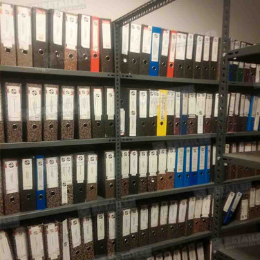 Складской-архивный стеллаж