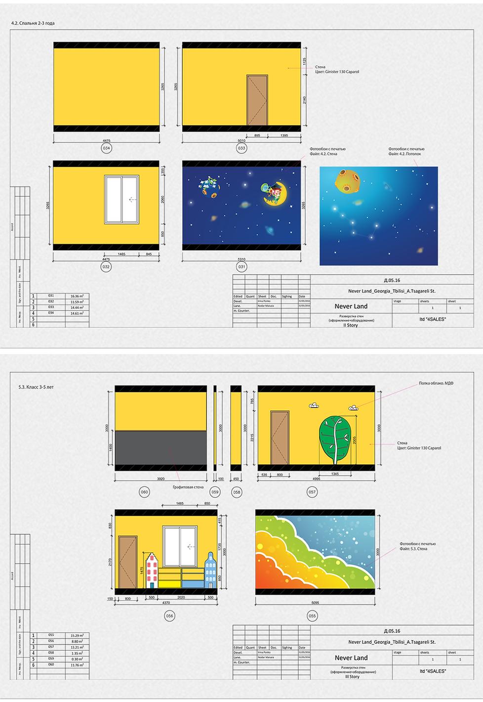 საბავშვო ბაღის დიზაინ პროექტი