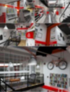 дизайн интерьера магазина santa esperanta