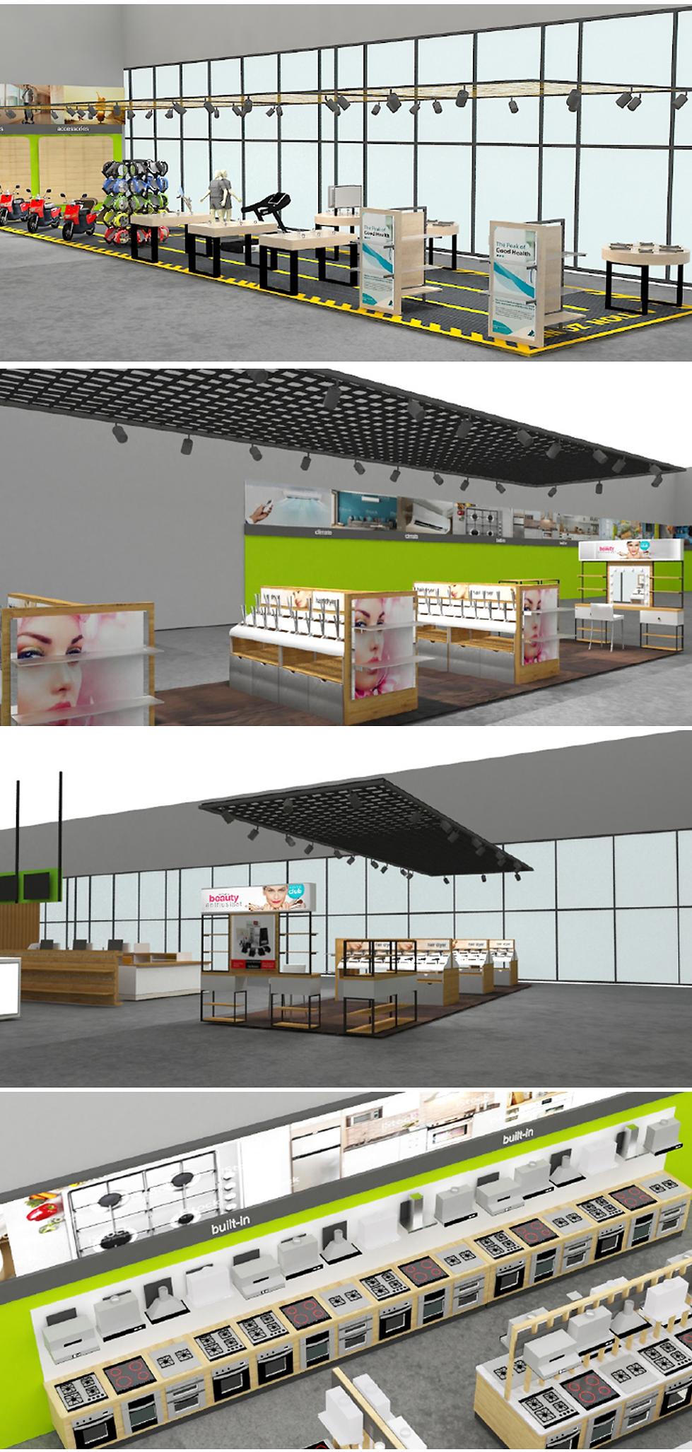 интерьер магазина дизайн