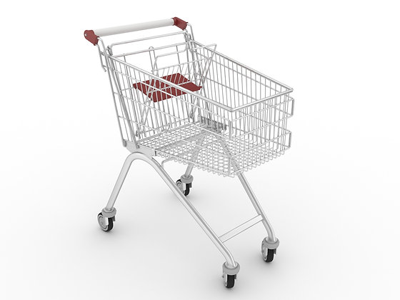 საყიდლების ურიკა საბავშვო სკამით