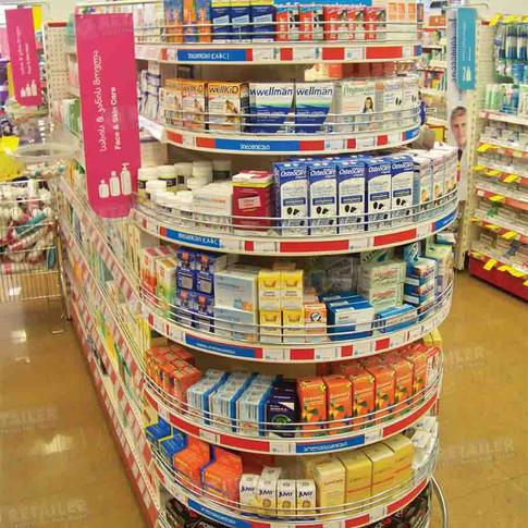 Овальный Стенд, City Pharma