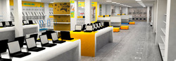 Store design and projecting