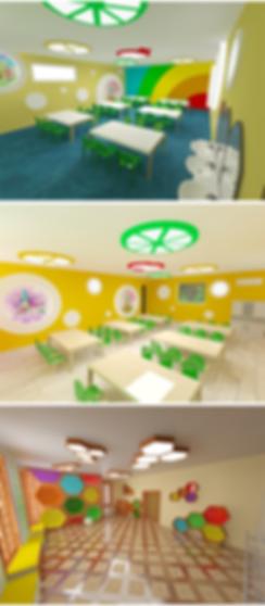 внутреннее оформление детского сада