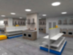 дизайн внутреннего оформления магазина