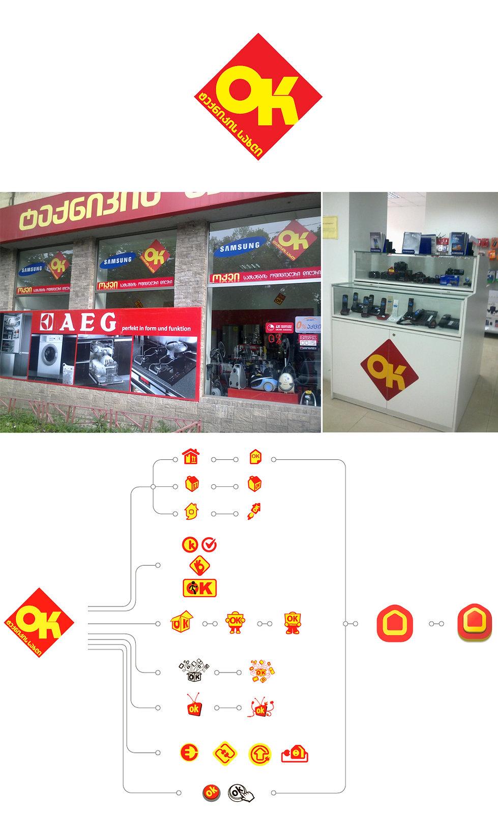 electronics store logotype