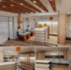 მაღაზიის 3D მოდელირება და რენდერები