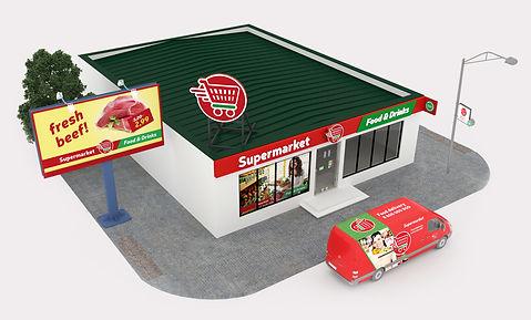 проектирование магазинов