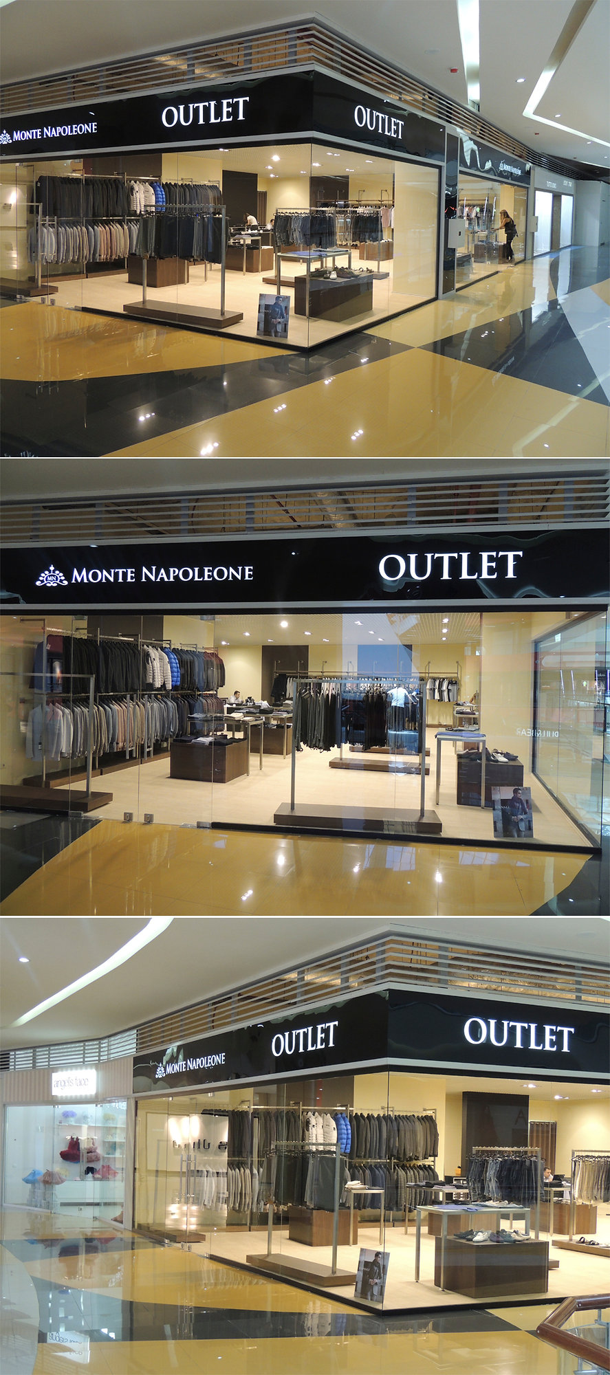дизайн и проектирование магазина monte napaleone