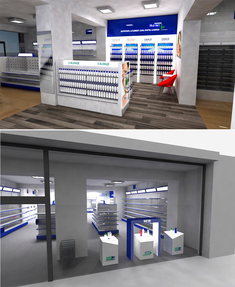 apotheka interior design