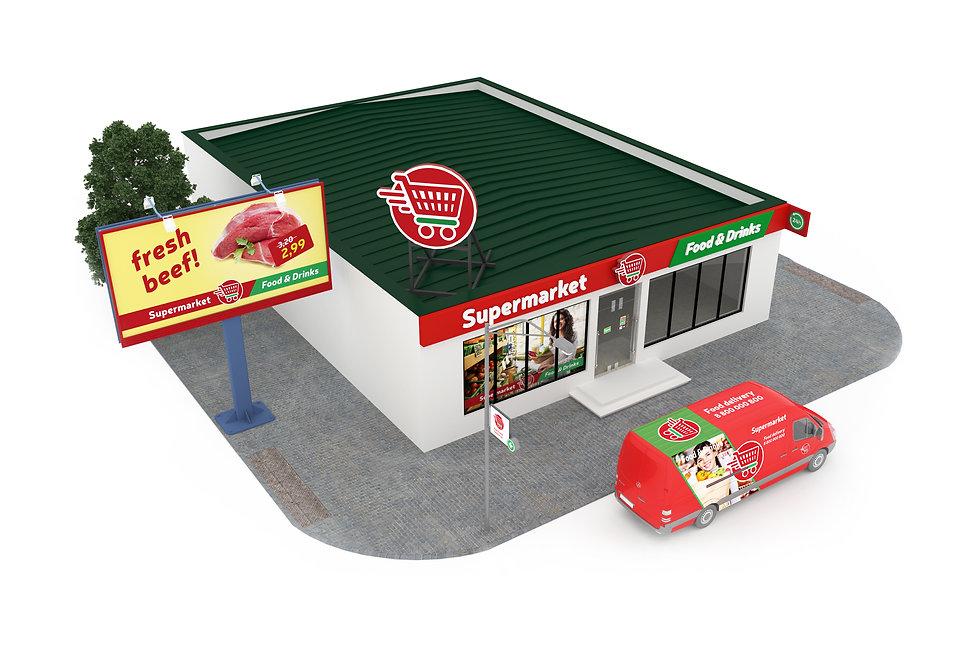store exterior design 4sales