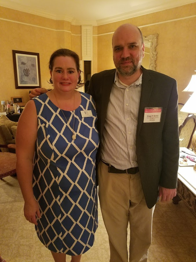 Jennifer Dietz and Gregg Morton