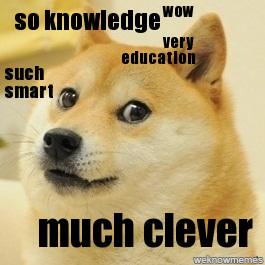Smart Doge Meme