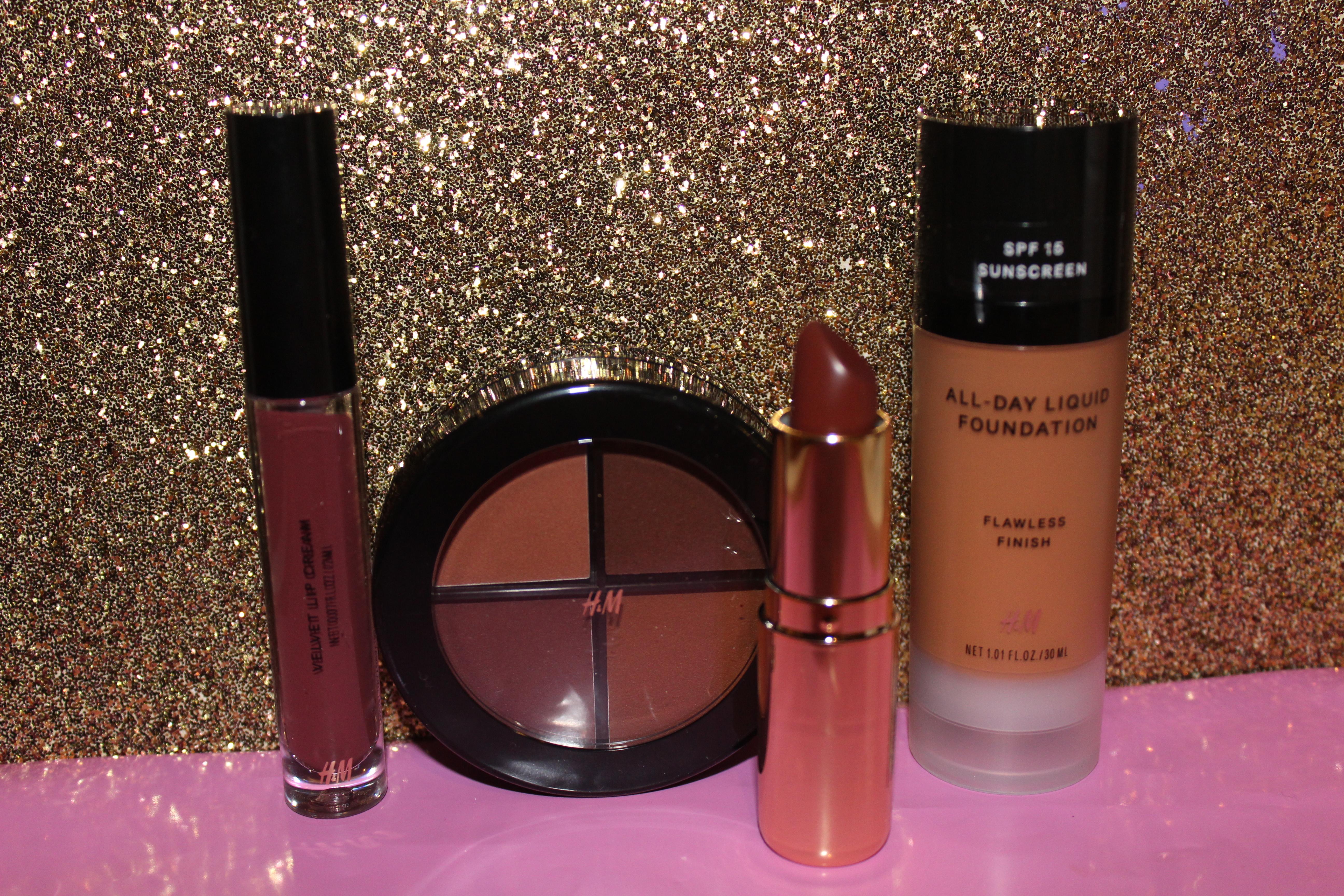 H&M Makeup!!!!! Pix, Names & Price List