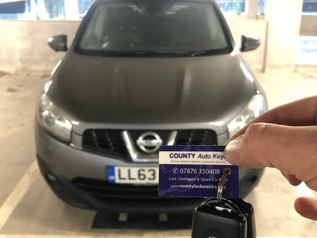 Is your Nissan Car Key getting stuck in the Ignition in South Wales or Bristol?
