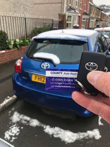 Toyota Auris Car Keys