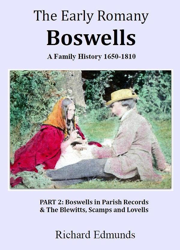 Romany Gypsy Boswells Family History