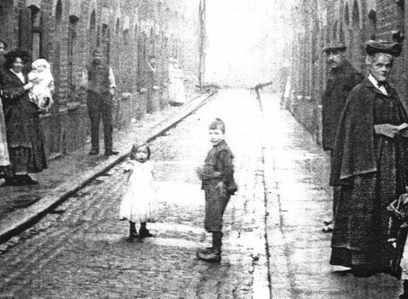 A two-century family odyssey in Spitalfields - Part 1 Jack the Ripper, Poverty, Pie and Mash