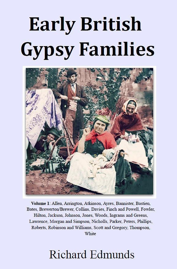 Romany Gypsy Ayres Brewer Ingram White Gregory Woods Finch Powell