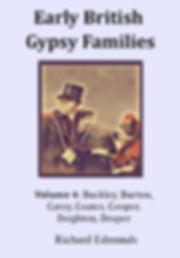 Romany Gypsy Buckley Burton Buckland Carey Cooper Draper Deighton