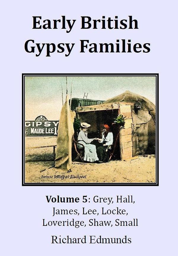 Romany Gypsy Lee Locke James Hall Grey