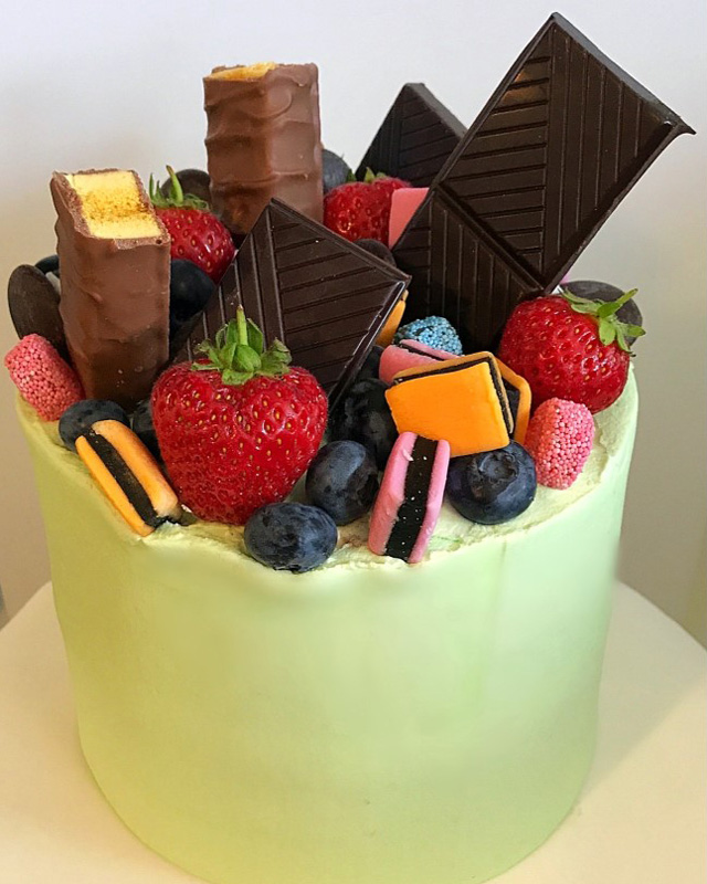 Chocolate/Fruit (Green)
