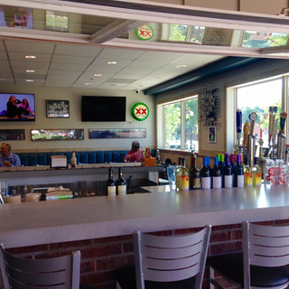 Flip Out Window creates Bar to Outdoor dining