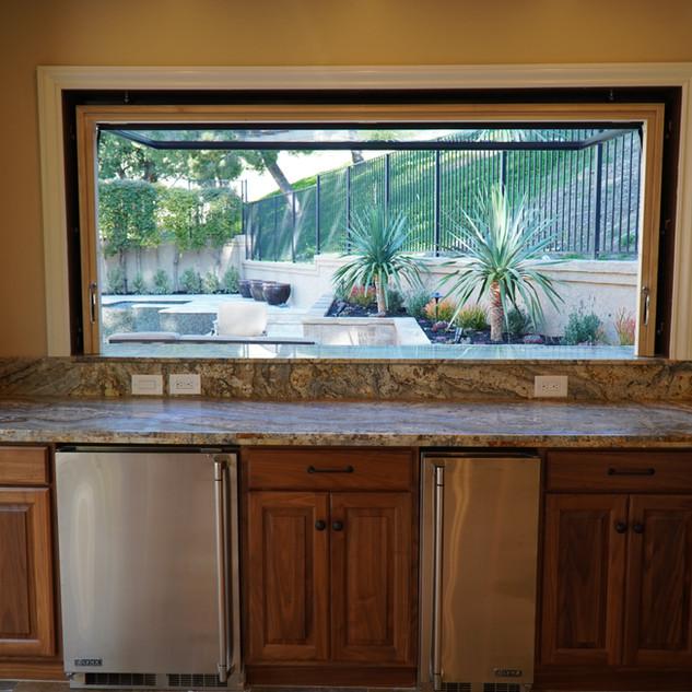 Outdoor kitchen - Nellie Gail, CA