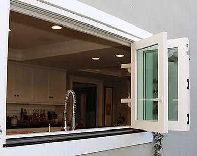bi-fold window for kitchen
