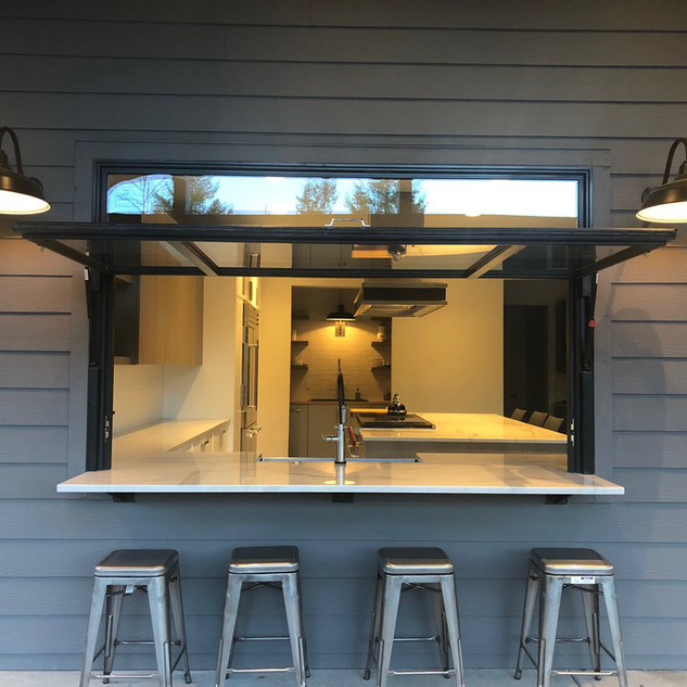 Washington Kitchen Remodel with a Flip Out Window