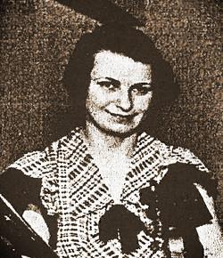 Mathilde Maliniak ca 1935