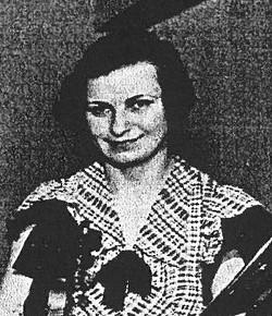Mathilde Maliniak ca. 1935