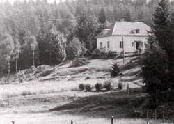 """Villaen """"Solviken"""" ved Töllsjö."""