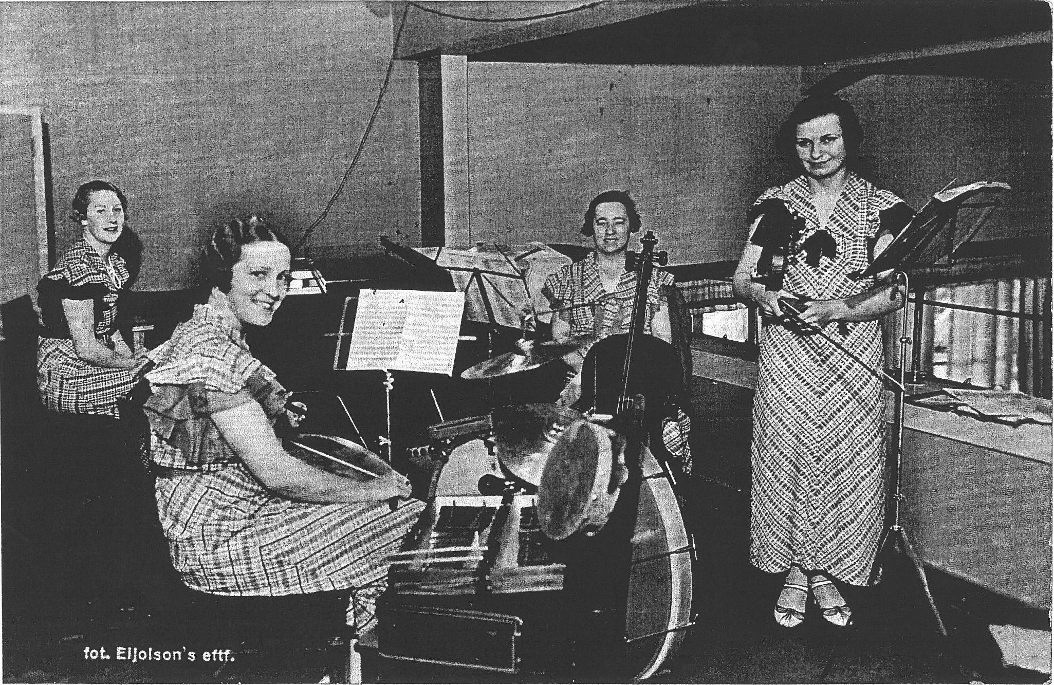 Dameorkester 1935