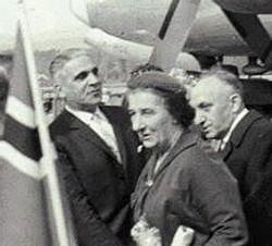 Marcus Levin Golda Meir 1950