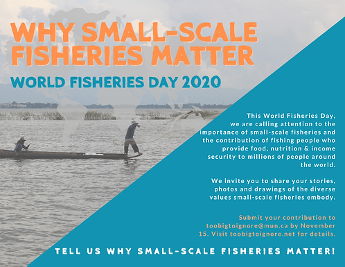 This World Fisheries Day, Tell Us Why Small-Scale Fisheries Matter!