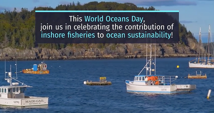 Join us in Celebrating World Oceans Day 2020!
