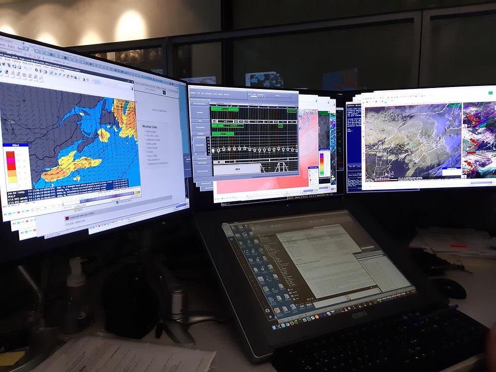 Forecaster workstation, EC (Sept 11, 201
